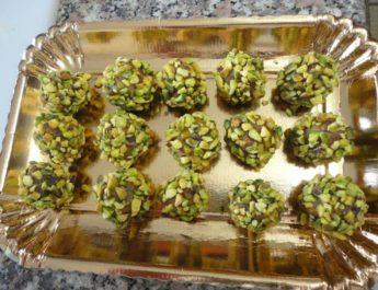 Bonbon datteri e pistacchi di Ernst Knam