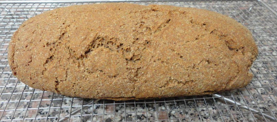 Pane di segale con il bimby TM5