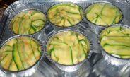 Sformatini di zucchine con ricotta e pinoli
