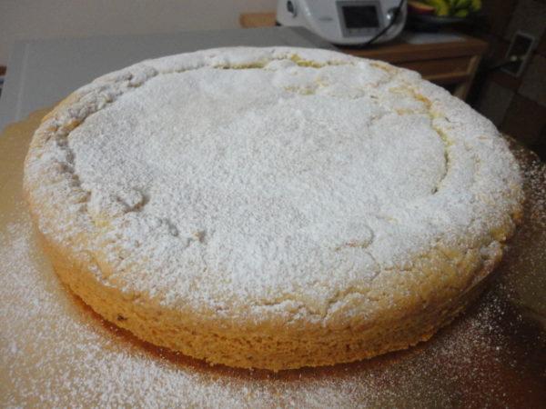 Torta Alla Crema Di Limone Preparata Con Il Bimby Tm5